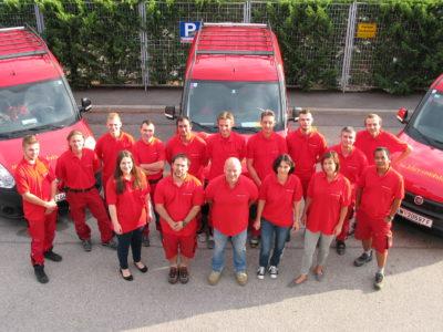 das Team von Elektro Rabl